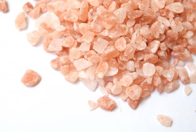 Himarayan pink salt